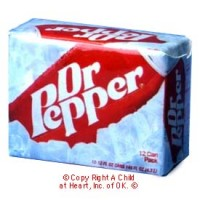 (§) Disc .60¢ Off - Dollhouse Dr. Pepper Case - Product Image