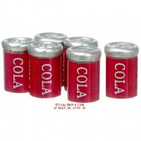 (§) Sale .40¢ Off - 6 pc Cola Cans - Product Image