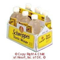 § Disc. $2 Off - 6 pack of Tonic Water in Carrier - Product Image