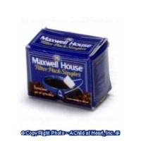 (§) Sale .30¢ Off - Dollhouse Box of Regular Coffee - Product Image