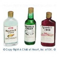 (§) Sale .70¢ Off - Set of 3 Vintage Liquor Set - Product Image