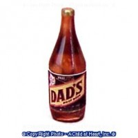 (§) Sale .30¢ Off - Vintage Root Beer Bottle - Product Image