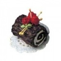 Dollhouse Christmas Log - Product Image