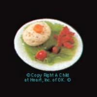 Individual Gefilte Fish Plate - Product Image