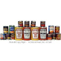§ Disc .50¢ Off - Dollhouse Canned Foods - Product Image