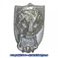 (*) Unfinished Lion's Head Door knocker - Product Image