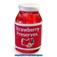 (§) Sale .50¢ Off - Jar of Strawberry Preserves - Product Image