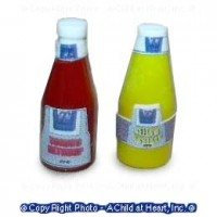 § Disc .60¢ Off - Ketchup & Yellow Mustard Set - Product Image
