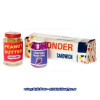 (*) Bread, Peanut Butter & Jelly Set - Product Image