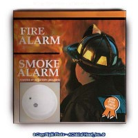 § Sale .40¢ Off - Dollhouse Smoke Alarm Box (Kit) - Product Image