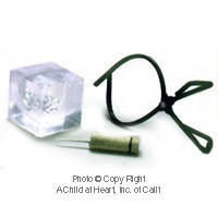 (§) Sale .20¢ Off - Ice Pick, Ice Block and Tongs - Product Image
