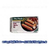 § Disc .60¢ Off - Dollhouse Frozen Fish Sticks - Product Image
