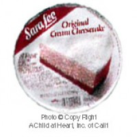 § Disc .80¢ Off - Dollhouse Sara Lee Refrigerator Cheese Cake - Product Image