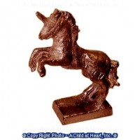 (*) Unfinished Statue - Rampant Unicorn - Product Image
