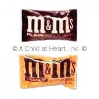§ Disc .80¢ Off - Dollhouse Small M & M Bag - Product Image