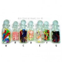 (§) Sale .60¢ Off - Filled Candy Jars - Product Image
