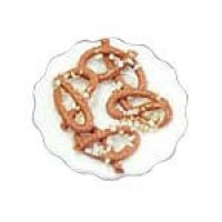 Dollhouse Pretzles on Plate - Product Image