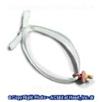 (*) Unfinished Baby Pacifier - Product Image