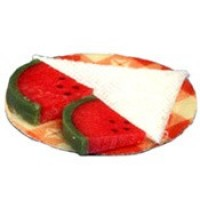 Dollhouse Watermelon on a Plate - Product Image