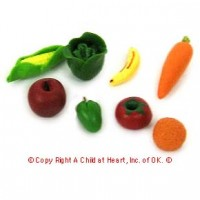 § Disc $2 Off - Dollhouse Mixed Produce Items - Product Image