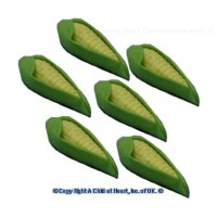 § Sale $1 Off - 6 Dollhouse Ears of Corn - Product Image