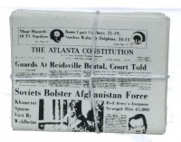 (§) Sale .20¢ Off - Stacked Atlanta Constitution - Product Image