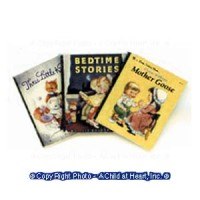 (§) Disc .60¢ Off - Dollhouse 3 pc Little Golden Book Set - Product Image
