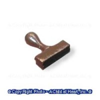 Unfinished Rubber Stamp - Product Image