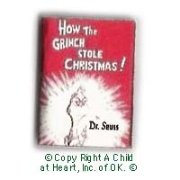 § Sale .50¢ Off - The Grinch Stole Christmas Book - Product Image