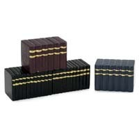 Dollhouse Wooden Books Sets - Black - Product Image