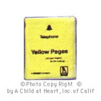 § Sale .30¢ Off - Dollhouse Yellow Pages - Product Image