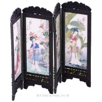 (§) Sale $1 Off - Dollhouse Chinese Screen - Ladies - Product Image