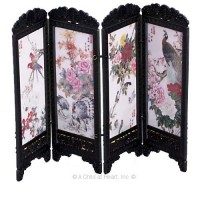 Dollhouse Chinese Screen - Birds - Product Image