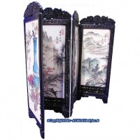 Dollhouse Chinese Screen - Mountains - Product Image