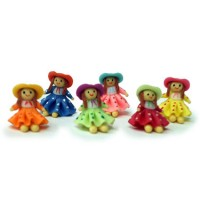§ Disc .40¢ Off - Dollhouse Country Dolls - Product Image