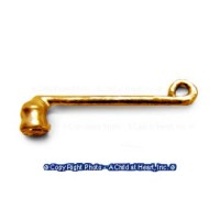 (*) Unfinished Colonial Candle Snuffer - Product Image