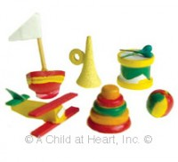 § Disc .60¢ Off - Primary Nursery Sets - Product Image