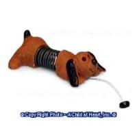 (§) Disc .60¢ Off - Tiny Slinky Dog Toy - Product Image