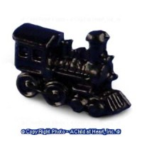 Dollhouse Miniature Train  Engine - Product Image
