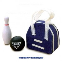 Dollhouse Bowling Ball Set - Product Image
