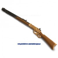 (*) Dollhouse Winchester Riffle - Gold - Product Image