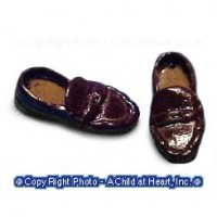 (*) Unfinished Penny Loafers - Product Image