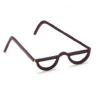 § Sale .30¢ Off - Dollhouse 1/2 pair of Eyeglasses - Product Image