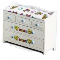 Dollhouse ABC Changing Table/Chest - Product Image