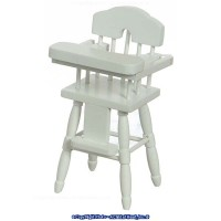 Dollhouse Highchair - White - Product Image