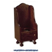 Dollhouse Victorian Potty Chair - Product Image