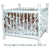 § Disc $3 Off - Faux Wicker Playpen - Product Image