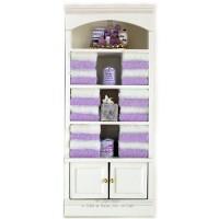 (§) Sale $4 Off - Dollhouse Lavender Bathroom Shelf - Product Image