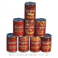 § Sale .60¢ Off - Van De Camp Dollhouse Food (Kit) - Product Image