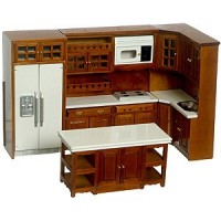 (§) Sale $35 Off - Walnut Modern Kitchen - Product Image